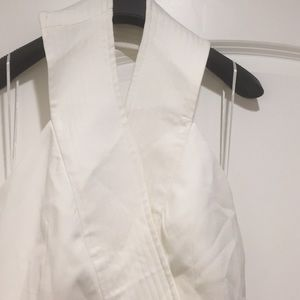 Cameo Dresses - Perfect halter top white dress for summer